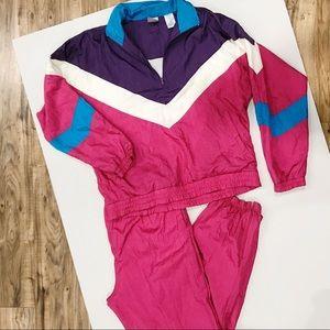Vintage USA Olympics Track Suit JC Penny Pink
